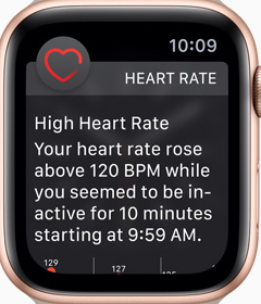Apple Watch Series 4 - Heart Rate